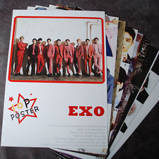 K-POP EXO XOXO EXO-K EXO-M 10Posters Collection Bromide (10PCS) A4 SIZE