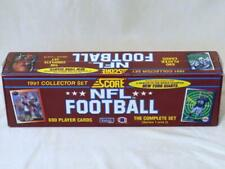 1991 NFL Score Football Cards Factory Sealed Complete Set Series 1 and 2