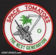 SPACE TOMATOES Experiment LDEF PAYLOAD NASA SHUTTLE Mission SPACE PATCH - MINT