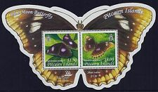 2005 PITCAIRN ISLANDS BLUE MOON BUTTERFLY MINISHEET FINE MINT MNH