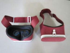 Google Daydream View VR Headset - Crimson Red Lot of 2 Pair