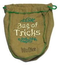 Bag of Tricks Large Dice Bag No Dice Holds Over 200 Dice RPG D&D New
