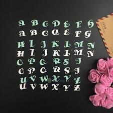 Alphabet Letter A-Z Metal Cutting Dies Stencil DIY Scrapbooking Paper Craft New