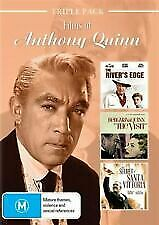 FILMS OF ANTHONY QUINN    NEW 3 DVDS