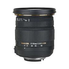 Sigma 17-50mm f/2.8 EX DC OS HSM Zoom Lente Para Nikon DSLR con sensores APS-C