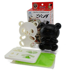 Japanese Bento Accessories Cute Baby Panda Rice Mold & Seaweed Nori Cutter Set