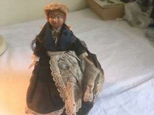 ANTIQUE - FRENCH - TRADITIONAL - REGIONAL - COSTUME DOLL - BEZIER  - FRANCE
