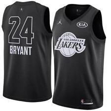 3230f010fa6d Los Angeles Lakers Kobe Bryant Jordan BRAND Black All Star Swingman Jersey  S 40