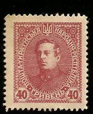1918 UKRAINE SYMON PETLJURA UKRAINISCHER FREIHEIT KÄMPFER UNGEBRAUCHT MARKE