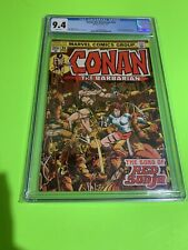CGC 9.4 Marvel CONAN THE BARBARIAN #24 NM 1st Full RED SONJA Movie WHITE PAGES