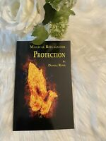 Magical Rituals For Protection by Donna Rose Book~Wiccan Pagan Spiritual Magick