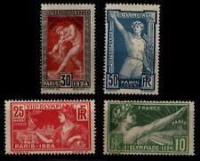 Déstockage : JEUX OLYMPIQUES 1924, Neufs* = Cote 52 € / Timbres France 183 à 186