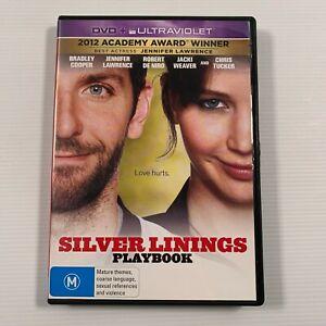 Silver Linings Playbook (DVD, 2013) Jennifer Lawrence Bradley Cooper Region 4