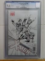 CGC 9.6/NM+ ASTONISHING X-MEN #50 1:100 SKETCH VARIANT by JOHN CASSADAY