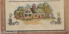ELSA WILLIAMS THE COTTAGE SAMPLER,Counted Cross Stitch Kit,LeClair,Sealed #32154