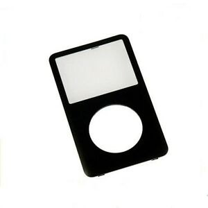 Black Front Faceplate Face Plate Cover Housing for iPod Video 5th 5.5 Gen 30GB
