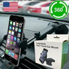 Us 360 Degree Mount Holder Car Windshield Glass Stand For Mobile Cell Phone Gps