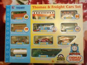 Thomas & Freight Cars Tomica World Train Set