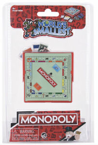 World's Smallest MONOPOLY Board Game Toy Doll House Miniature