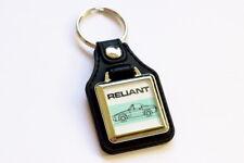 Reliant Scimitar SS1 Keyring - Leatherette & Chrome Classic British Car Keyfob