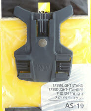 Nikon AS-19 Stand for Flash with Tripod socket Genuine