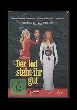 DVD DER TOD STEHT IHR GUT - BRUCE WILLIS + MERYL STREEP + GOLDIE HAWN ** NEU **