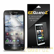 4X EZguardz Clear Screen Protector Shield 4X For Pantech Perception ADR930L