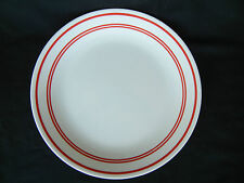 Corelle CLASSIC CAFE RED Luncheon Plates 8 1/2 in.