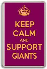 KEEP CALM AND SUPPORT GIANTS, HUDDERSFIELD GIANTS RUGBY TEAM Fridge Magnet