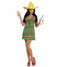 MEXICAN WOMAN'S GIRL FANCY DRESS COSTUME DRESS