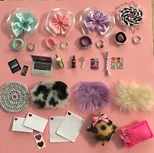 32 Piece Set Handmade Accessories For Littlest Pet Shop Skirt Tiara Necklace Etc