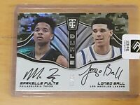 2017 Totally Certified Lonzo Ball Markelle Fultz Rookie Autograph /25 RC Auto