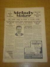 MELODY MAKER 1933 DEC 2 HOWARD JACOBS JACK SHEEHAN BIG BAND SWING