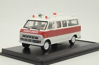 RARE !! Ford Econoline Ambulance USA Custom Made Vector Models TD-41 1/43
