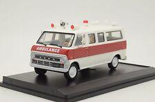 Mega RARE !! Ford Econoline Ambulance Custom Made Vector Models TD-41 1/43