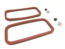 New Engine Side Cover Gasket Kit Set MGB 1969-1980 Silicone W/ Seals Retainers