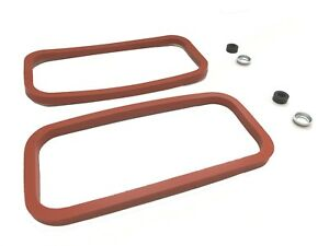 New Engine Side Cover Gasket Kit Set MGB 1969-1980 Rubber W/ Seals Retainers