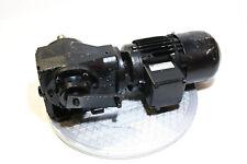 Flender moteur électrique kf34-m1p4-l4/3n + boîte de vitesses