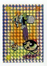 Artbox 2000 Powerpuff Girls Series 1 Silver Foil Pr07 Chase Card Mojo Jojo