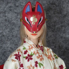 "NEW 1:6th Red Fox Mask Veil Face Shield Model F12"" PH HT Male Female Doll"