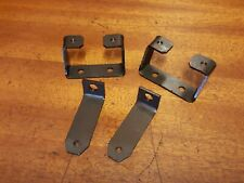 RENAULT 5 GT TURBO NEW FRONT AND REAR BUMPER FIXING MOUNTING BRACKETS FULL SET