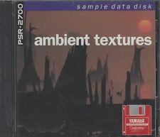 Yamaha Psr-2700 Sample Data Disk European Music Software Ambient Textures B4
