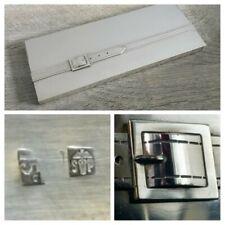 Maria Pergay Elegant Box IN Trompe L'Oeil / Punch D'Goldsmith / Metal Silver