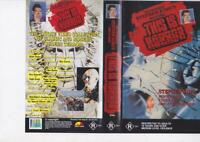 THIS IS HORROR STEPHEN KING  MINT VHS PAL VIDEO  A RARE FIND  RARE