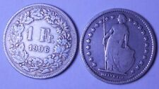 Schweiz 1 Franken 1906 Ag