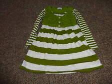 BOUTIQUE ELLA MOSS 3T GREEN STRIPED DRESS