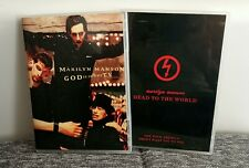 MARILYN MANSON DVD DEAD TO THE WORD & GOD IS IN THE TV