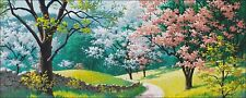 Needlework Crafts Embroidery DIY Counted Cross Stitch Kits - Spring Blossoms