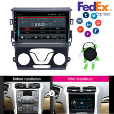 9' Android 9.1 Car Radio Gps Navigation Dvd Player for Ford Fusion Mondeo 12-14