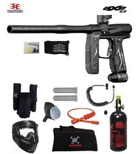 Maddog Empire Axe 2.0 Private Hpa Paintball Gun Marker Package Dust Black